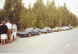 Den blå A 110 med startnummer 7 ägs numera av Leif Johnsson i Älmhult